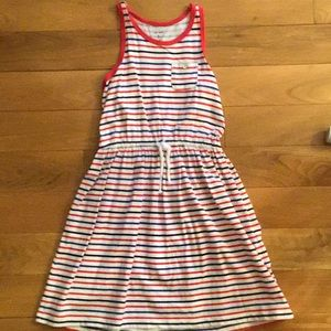 Red white and blue summer dress